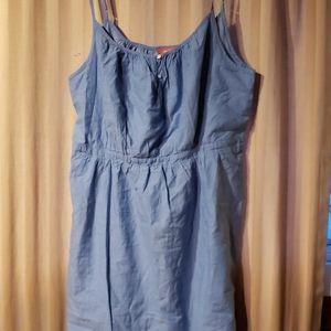 Chambray Joe Fresh dress